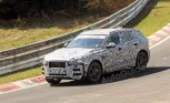 Jaguar F-Pace Spied Testing at the 'Ring
