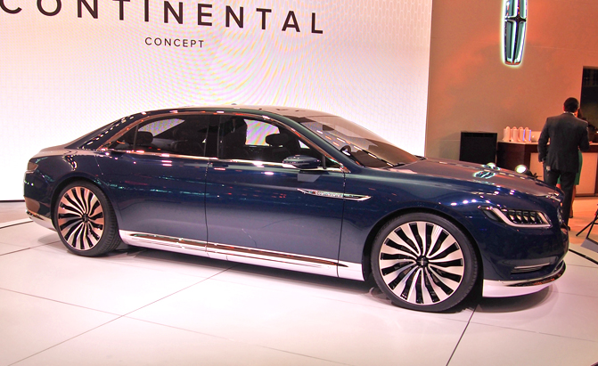 Model Lincoln Continental Concept Archives  AutoGuidecom News