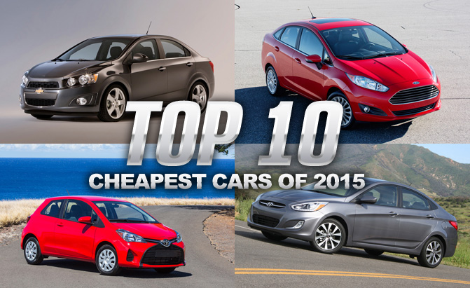 top 10 cheapest cars of 2015 news. Black Bedroom Furniture Sets. Home Design Ideas