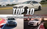 Top 10 Fastest Sedans to 60 MPH
