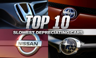 Top 10 Slowest Depreciating Cars