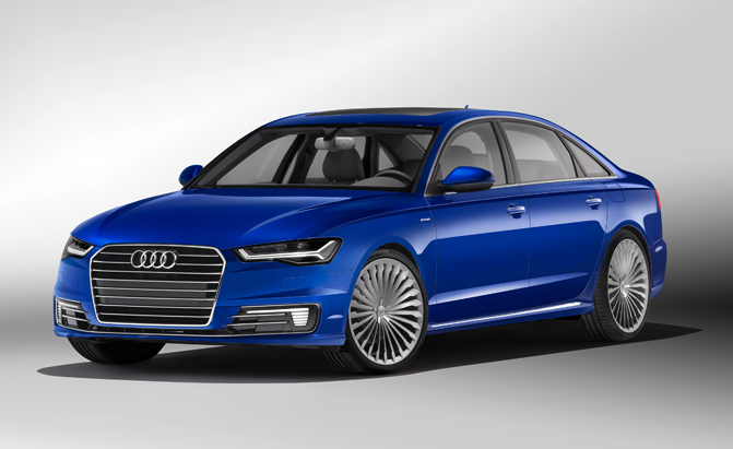 audi a6 l e tron previewed for china news. Black Bedroom Furniture Sets. Home Design Ideas