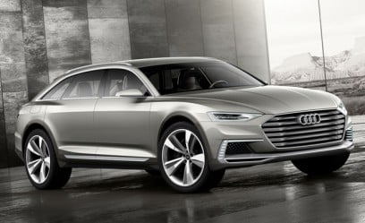 Audi Prologue Allroad Concept Makes 734 HP