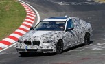 2017 BMW 5 Series Spotted Testing at the Nürburgring