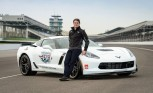 Jeff Gordon to Pace Indy 500 in Corvette Z06