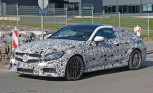 2017 Mercedes-AMG C63 Coupe Spied with Aggressive Looks