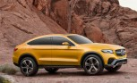Mercedes GLC Coupe Concept Aims at BMW X4