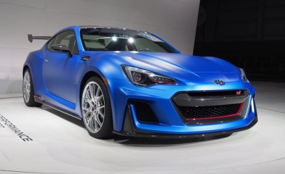 Subaru BRZ STI Coming to US