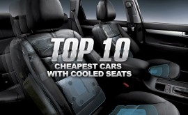 Top 10 Cheapest Cars With Cooled Seats