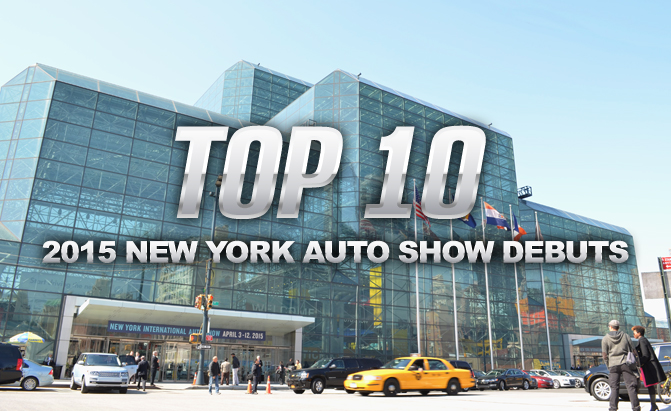 Top 10 new york auto show debuts news for Best show to see in new york