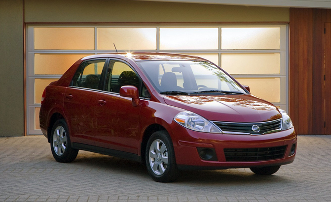 nissan versa safety investigation launched for suspension issue. Black Bedroom Furniture Sets. Home Design Ideas