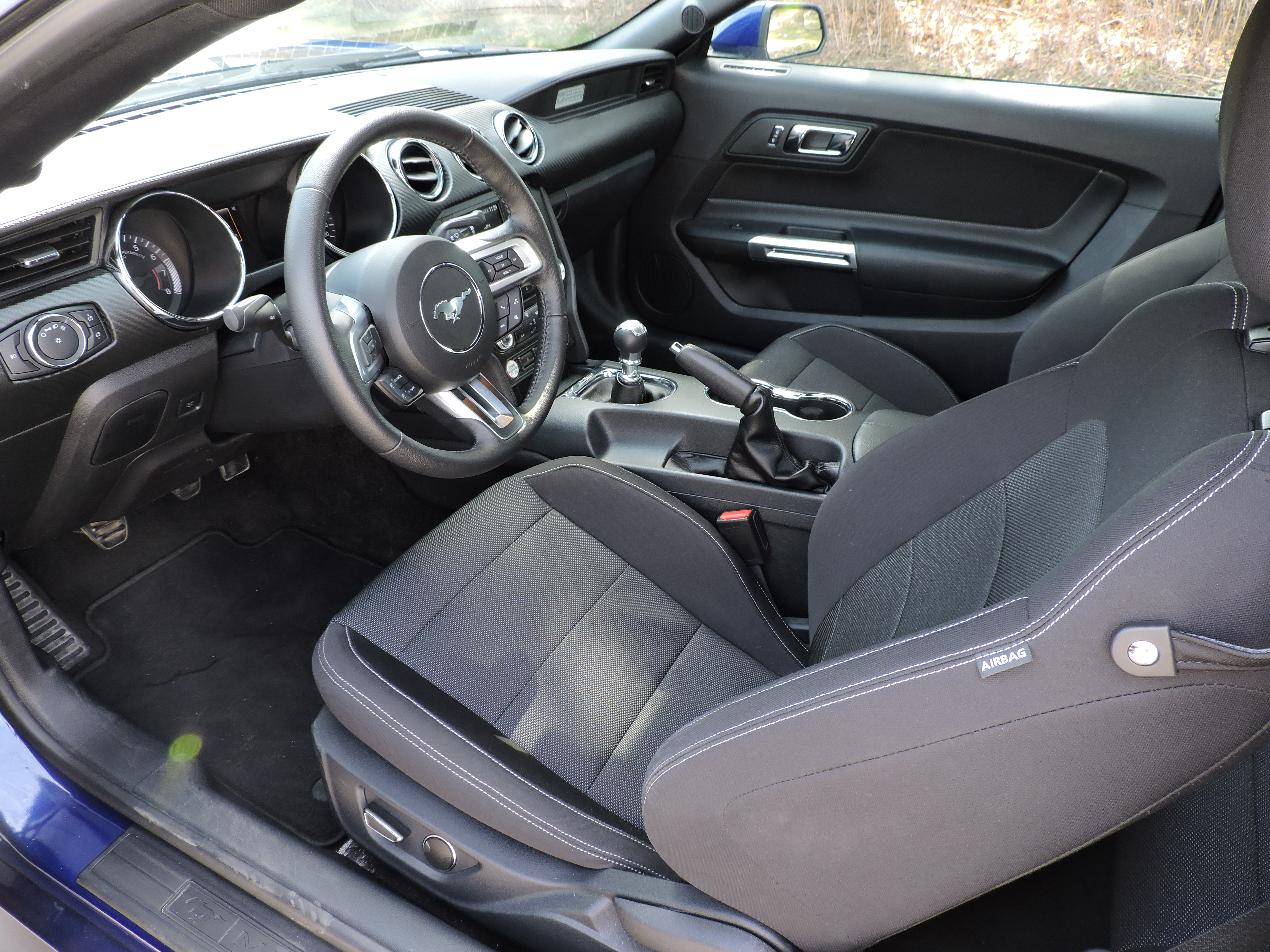 2014 mustang cloth interior images for Ford mustang 2015 interior