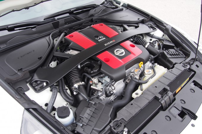 2015 Nissan 370Z NISMO Engine 02
