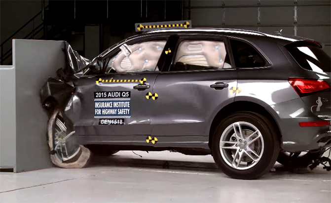 2015 Audi Q5 Earns IIHS Top Safety Pick+ Rating