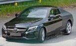 2016 Mercedes C-Class Coupe Spied in the Wild