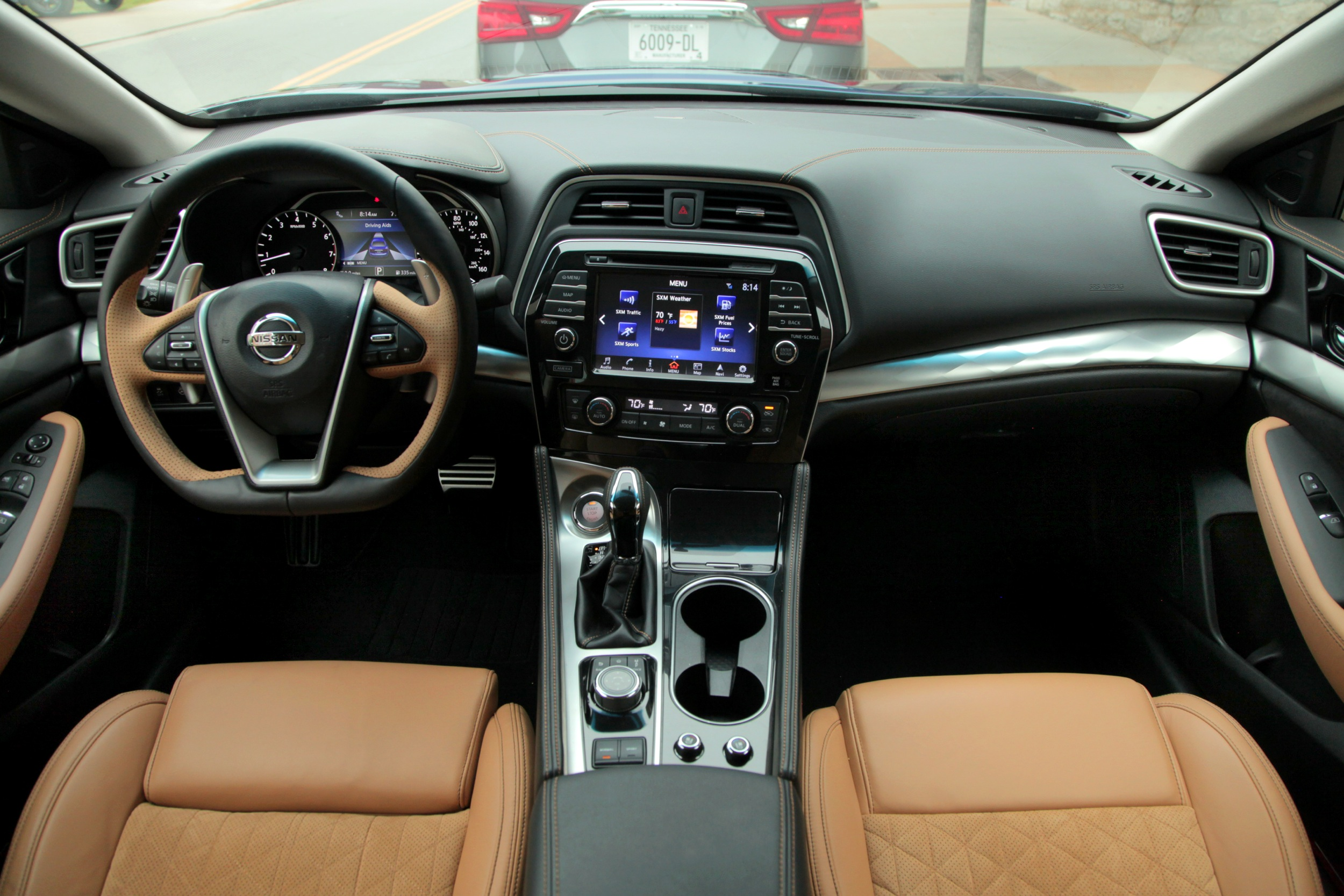 2016 Nissan Maxima Review Interior