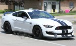 2016 Ford Shelby GT350R Spied Testing in White