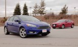 2015 Ford Focus vs Mazda3
