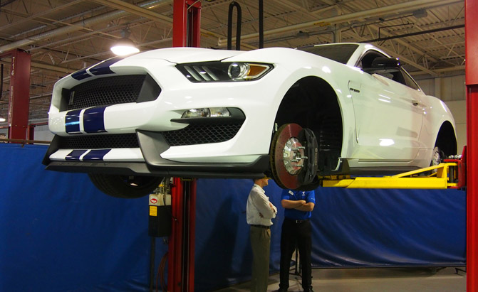 Shelby GT350 chassis