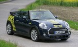 2016 MINI Convertible Spied With the Top Down