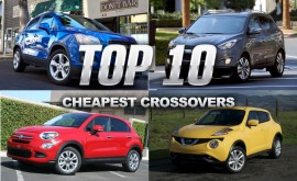 Top 10 Cheapest Crossovers