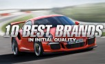 10 Best Car Brands in Initial Quality