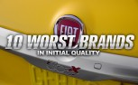 10 Worst Car Brands in Initial Quality