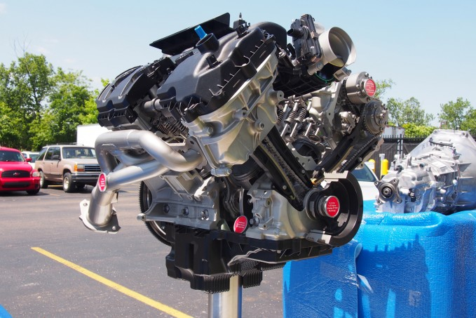 2016 Ford Shelby GT350 Engine 09