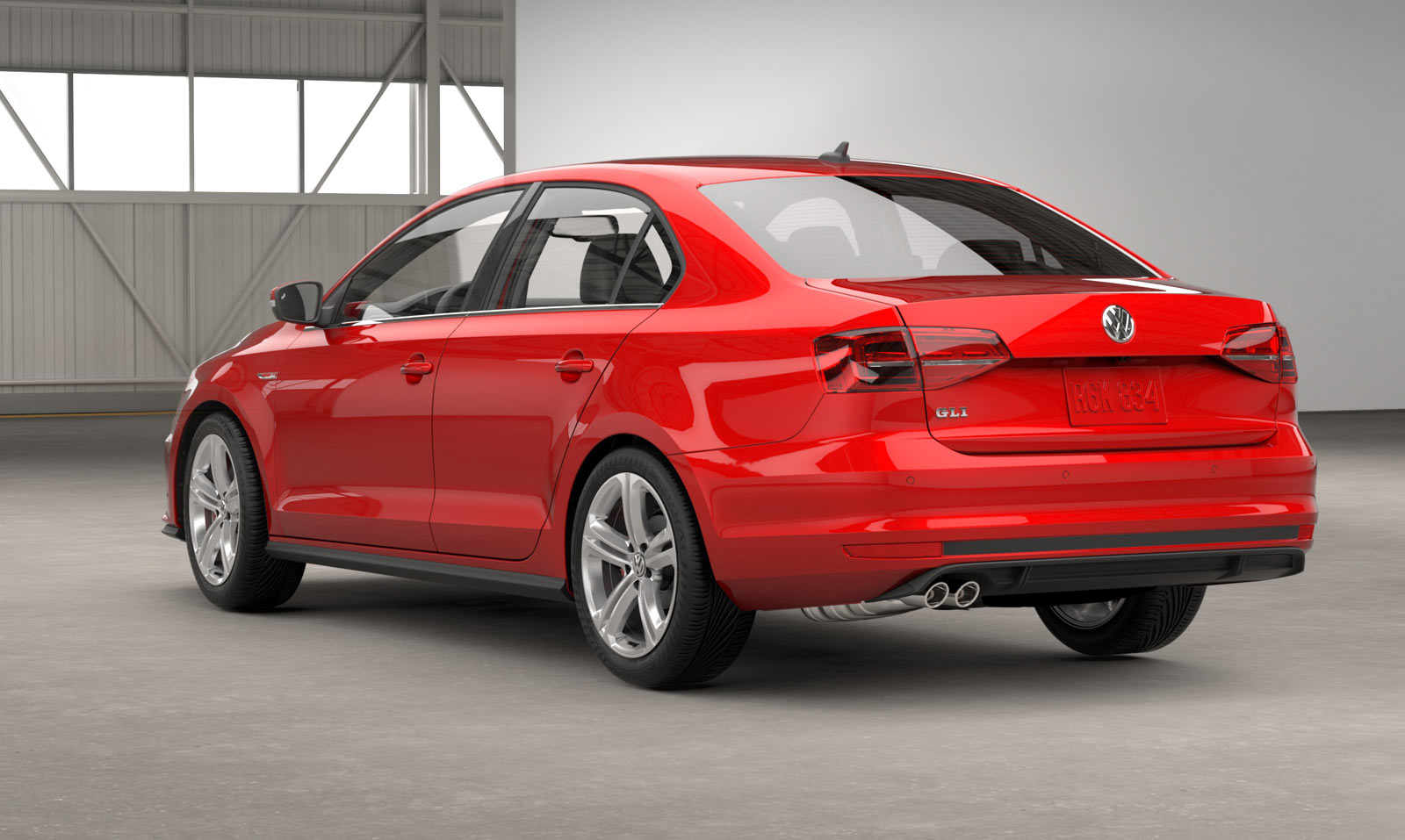 2016 vw jetta gli revealed with more aggressive style 210 hp news. Black Bedroom Furniture Sets. Home Design Ideas