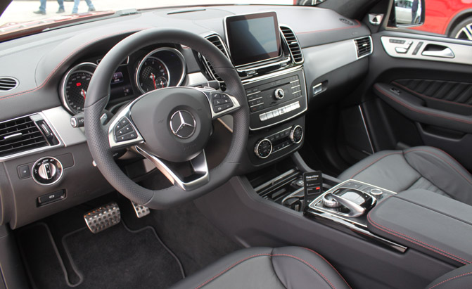 2016 Mercedes Benz Gle Coupe Interior