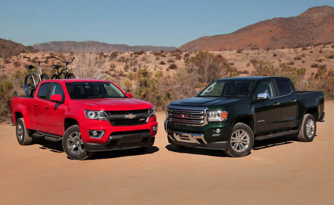 Chevy Colorado vs GMC Canyon: How Are the Trucks Different ...