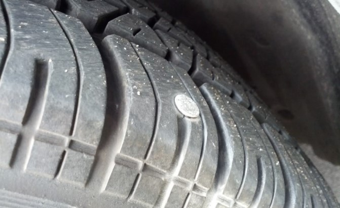 Nail In Tire Repair >> Here's Why You Really Shouldn't Drive on a Flat Tire ...