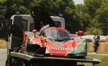 Mazda 767B Race Car Wrecks at Goodwood