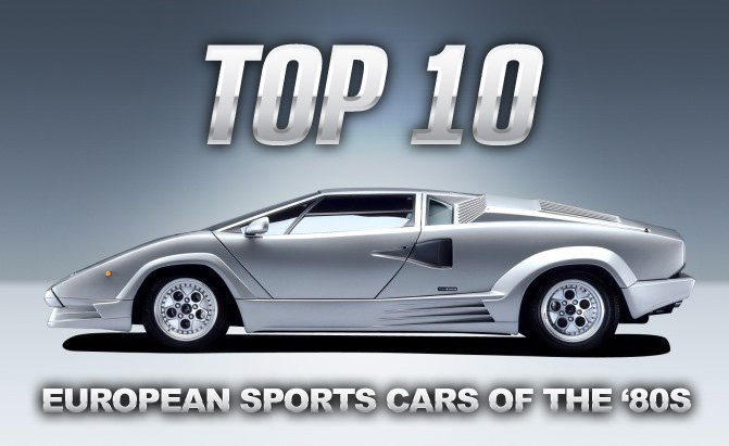 Top Best European Sports Cars Of The S AutoGuidecom News - Top best sports cars