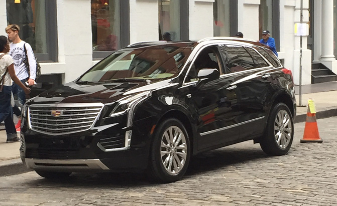 2016 Cadillac Crossover >> 2016 Cadillac Xt5 Shows Up Undisguised