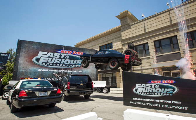 Fast Amp Furious Ride Opens At Universal Studios Hollywood