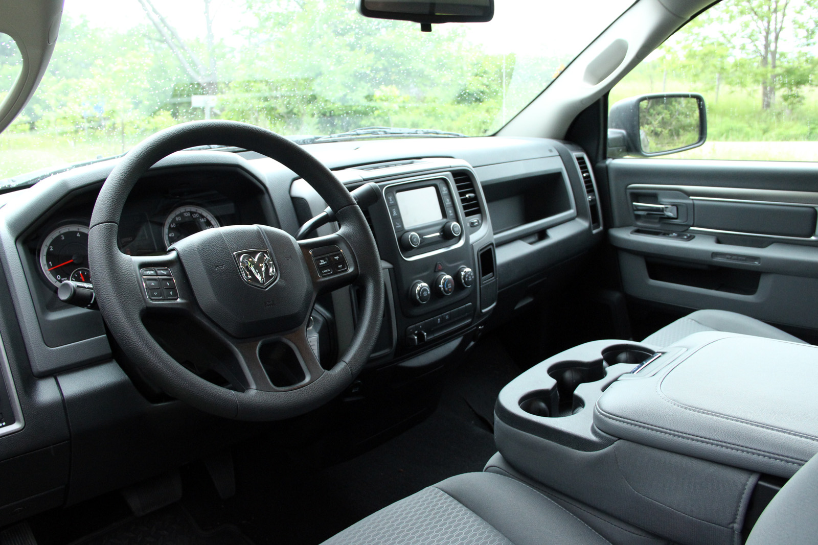 2015 Ram 1500 Black Express INterior Design