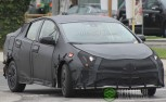 2016 Toyota Prius Spied with Heavy Camo
