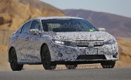 2016 Honda Civic Spied Inside and Out