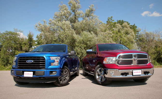 Acura Of Chattanooga >> 2015 Ford F-150 2.7L EcoBoost vs Ram 1500 EcoDiesel ...