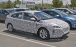 Hyundai Hybrid Drops Heavy Camo in Spy Photos