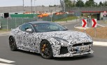 Jaguar F-Type SVR Spied with Production Body