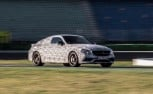Mercedes-AMG C63 Coupe Teased at the Race Track
