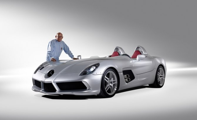 2009 Mercedes Benz Slr Mclaren Stirling Moss