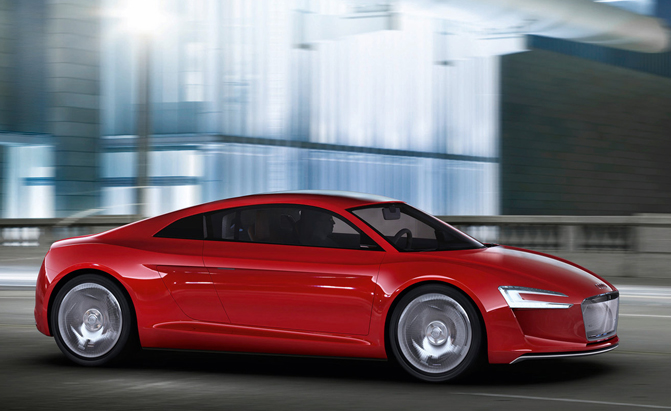 Audi R5 Under Consideration As Baby R8