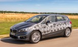 BMW 2 Series Active Tourer Tests Plug-in Hybrid Technology