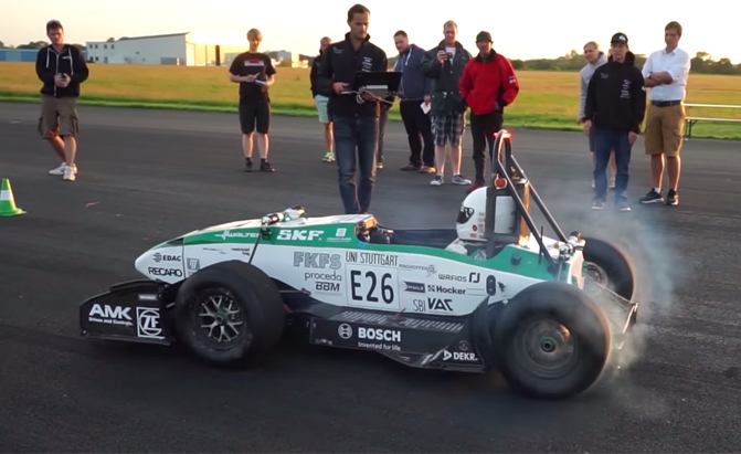 Students Build Fastest Accelerating Electric Vehicle In The World