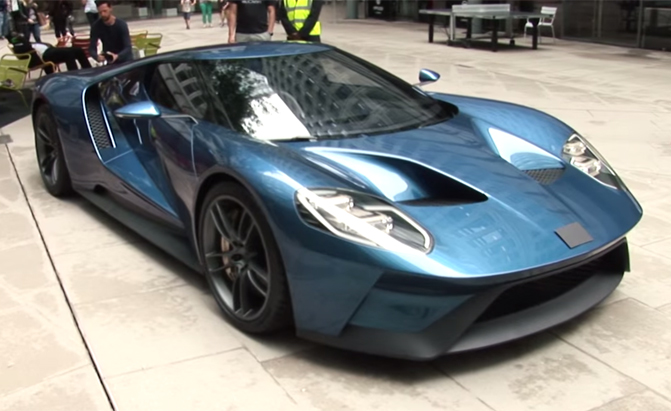 2015 Nissan Maxima For Sale >> Watch People Mistake the Ford GT for a McLaren
