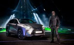 Lexus NX, Will.i.am Team Up to Make Music with Lasers