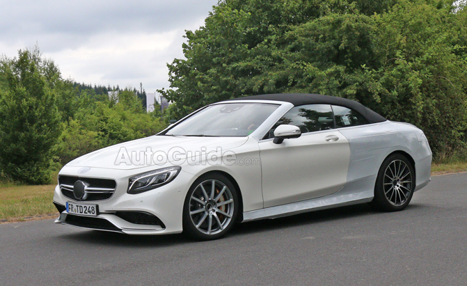 Mercedes Benz S63 Amg Convertible Spied Nearly Camo Free